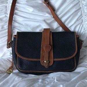 Vintage navy Dooney & Bourke shoulder bag